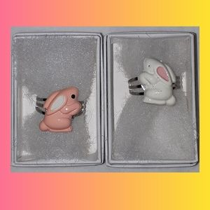 Other - 🧚♀️ 4 for $15🧚♀️ Cute Easter bunny rings
